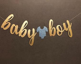baby boy banner etsy