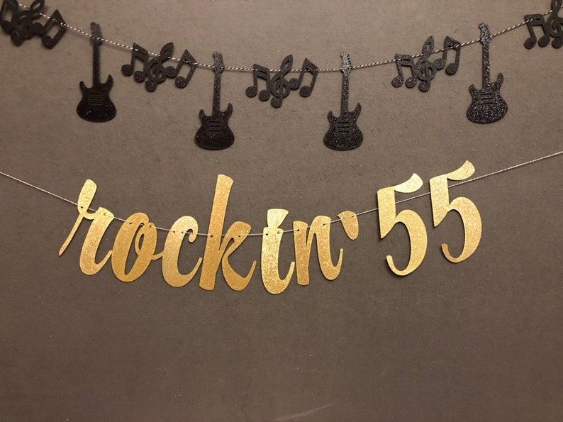 55th Birthday Banner Decorations
