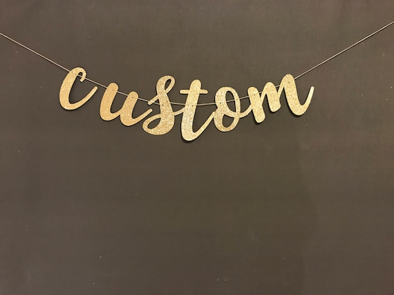 custom banner wedding banners bachelorette party banners etsy