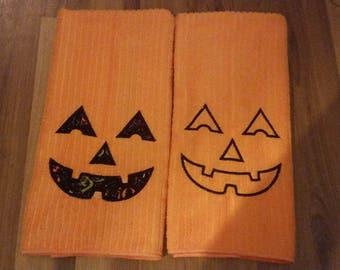 Halloween Kitchen or Bath Hand Towel