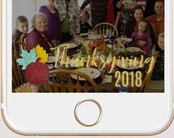 FREE Thanksgiving Snapchat 2018 GeoFilter