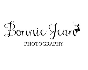 Photography Style Logo Design, Blog Logo, Blog Header, Business Logo, Black And White Logo, Premade Logo