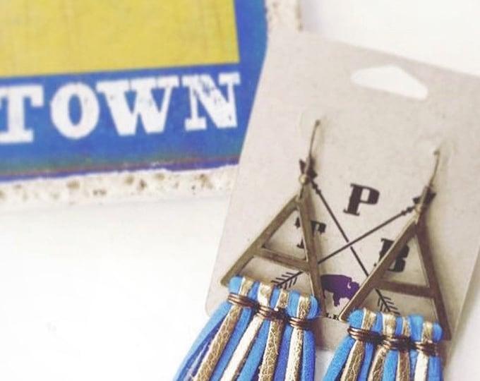 Crown Town Fringe Earring
