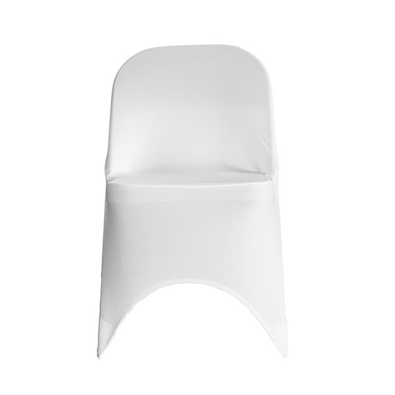 Incredible White Spandex Folding Chair Cover Stretch Chair Covers Wedding Chair Covers Pabps2019 Chair Design Images Pabps2019Com