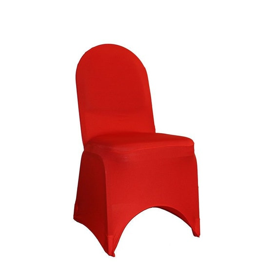 Enjoyable Red Spandex Banquet Chair Cover Stretch Chair Covers Wedding Chair Covers Gmtry Best Dining Table And Chair Ideas Images Gmtryco
