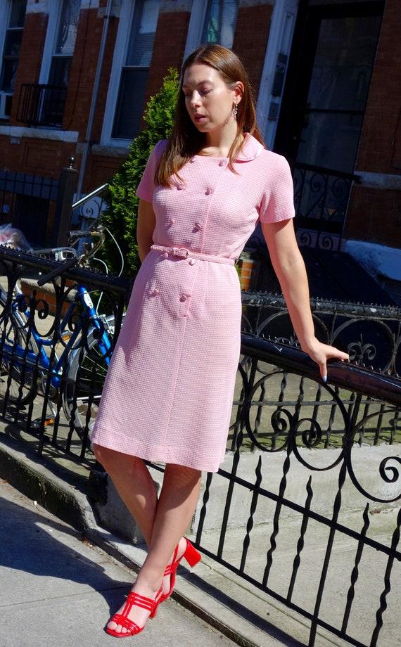 Bubblegum Pink Shirt Dress