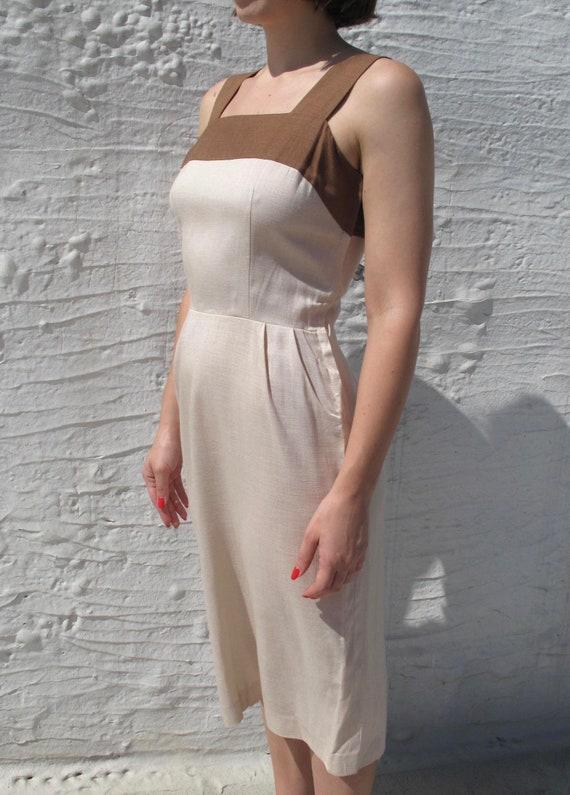 1960s Two Tone Dress - image 3