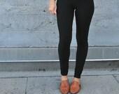 Black Leggings, High Waisted Leggings, Bamboo Basics, Black Yoga Leggings