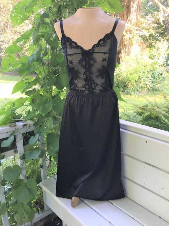 Vanity Fair Half Slip. Size Large/42. Nylon Lace … - image 1