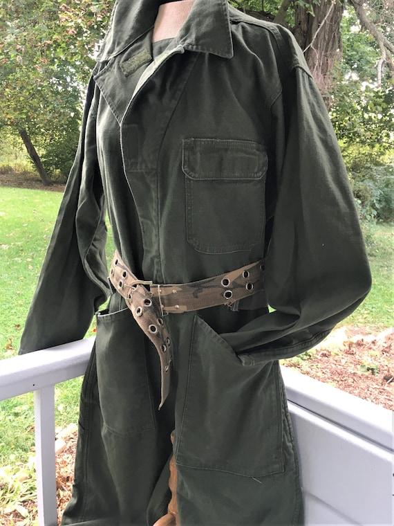 Vintage Men's Type 1 Coveralls. Mechanic Suit. Mil