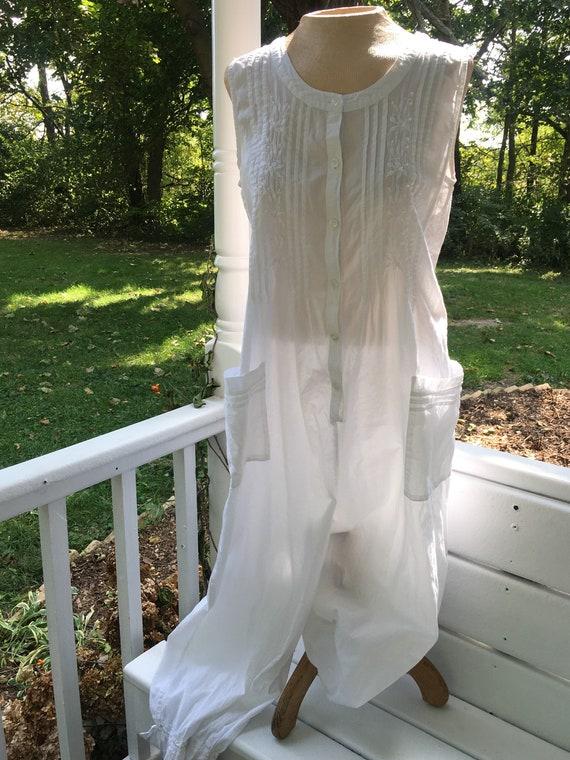 Petticoat Bloomers. White Lingerie. Cotton Lace Sl