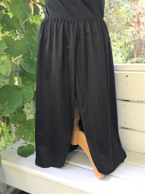 Vanity Fair Half Slip. Size Large/42. Nylon Lace … - image 5