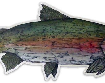 Steelhead Buck - sticker