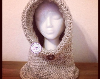 Hooded Cowl crochet pattern, kids hooded cowl, hooded cowl pattern, crochet pattern