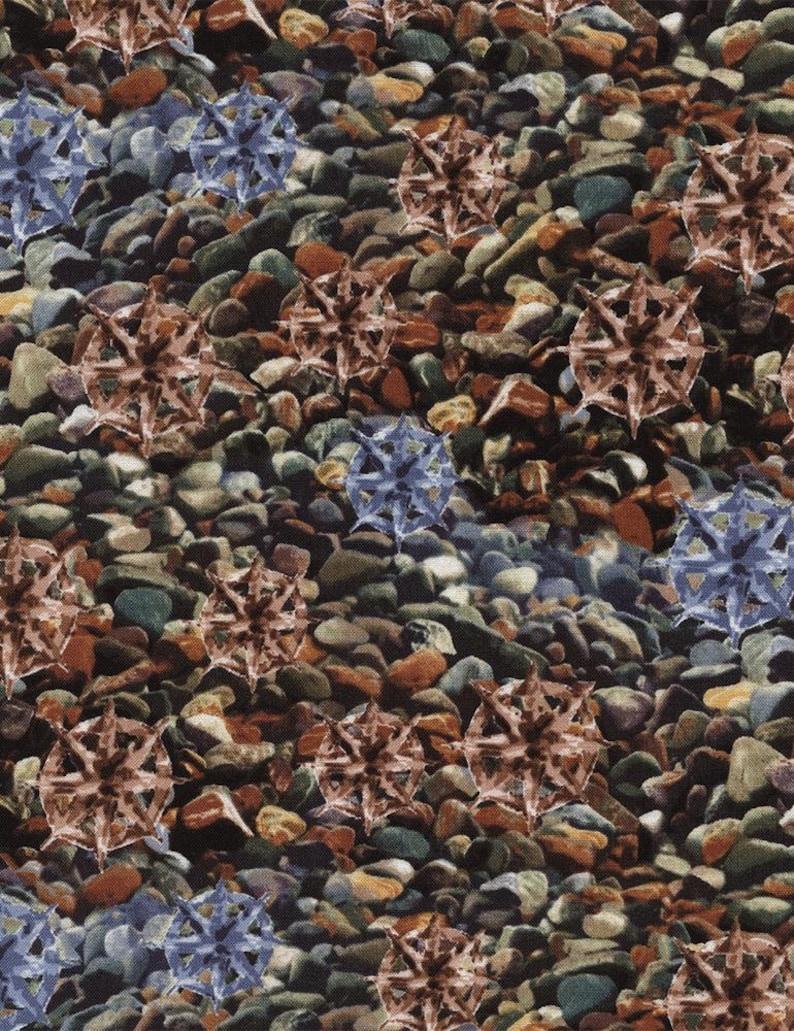 Landscape Pebbles Stones & Rocks Timeless Treasures #5260