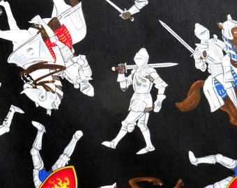 Medieval Times Knights in Armor Juvenile Timeless Treasures #2644 By the Yard