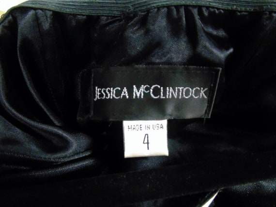 1980 Black and Pink Formal by Jessica McClintock,… - image 3