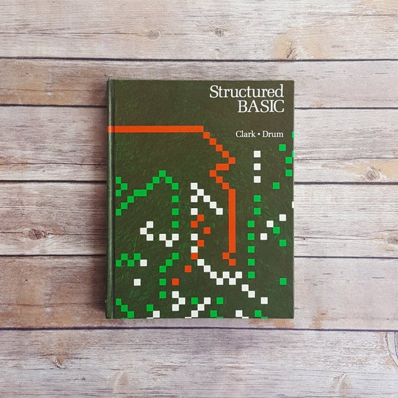 Structured Basic Language Basic Programming Language Computer Programming  Book Software Engineer Gift 80s Programming Text Nerd Code Book
