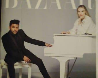 The Weeknd Harper's Bazaar Magazine for vision board or scrapbook