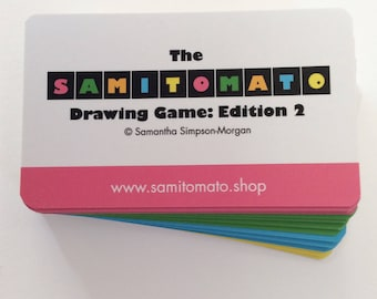 Samitomato Edition2 - 3 x game pack -drawing games for kids