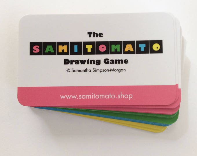 Retailers Pack - 5 x Samitomato Drawing Games!