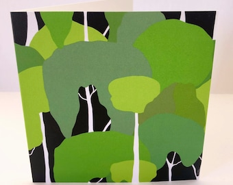 Eucalyptus Forest, Greeting Card