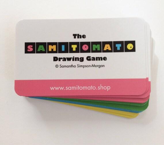 Samitomato Drawing Game - 3 game pack