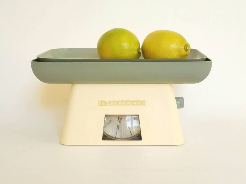 Kitchen Scale - Vintage Soehnle Kitchen Scales – Plain Vintage Household  Scale - Mid Century Modern Scales