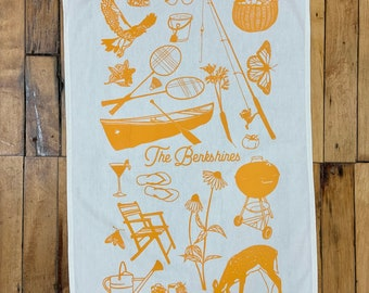 Tea Towel - the Berkshires - Summer