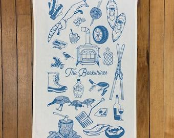 Tea Towel - the Berkshires - Winter