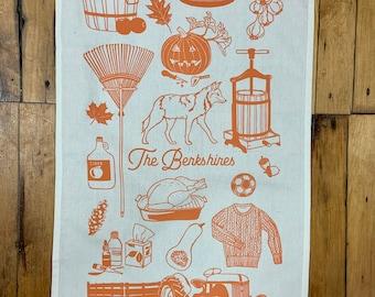 Tea Towel - the Berkshires - Fall