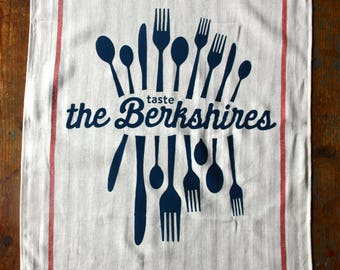 Taste the Berkshires tea towel