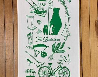 Tea Towel  -  The Berkshires - Spring