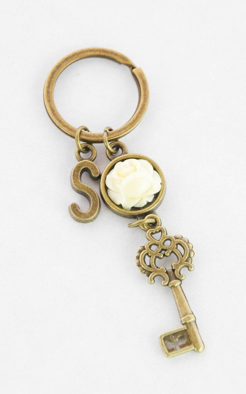Kleidung & Accessoires Begeistert Pilz Schlüsselanhänger Taschen-anhänger Silber