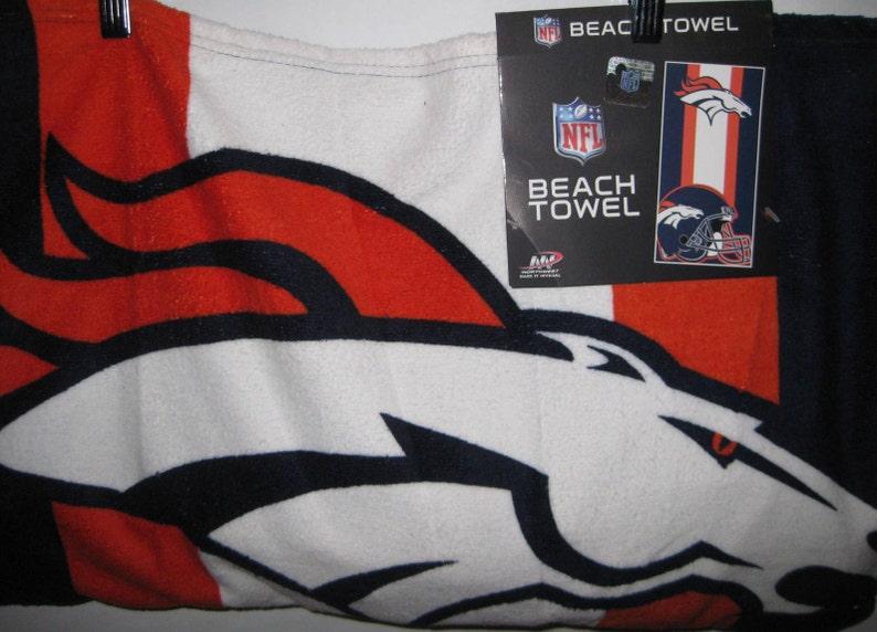 09bd469d 105 Denver Broncos Beach Towel Bags