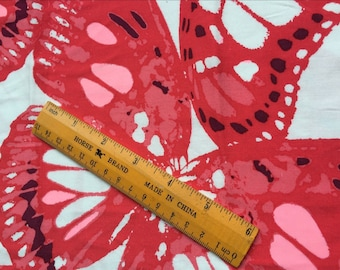 Pretty big butterfly pattern so soft Smooth Cotton Fabric 50*150 cm cotton knit 1/2 yard