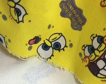 Spongebob Fabric Etsy