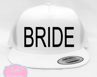 Bride Hat. Wifey Hat. Bachelorette Hat. Bridesmaid  Hat. Wedding Hats. Team Bride Hats. Snapback Hat. newlywed hat. Bachelorette Hat.