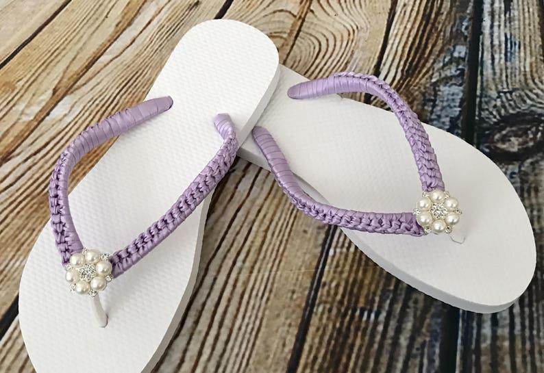2cdbefd3cb51 Beach Slippers. Bride Flip Flop. Destination Wedding. Wedding