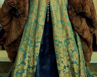 Custom made Tudor Anne bolyne Henry the 8th to your own measurements and style includes headress and hooped petticote