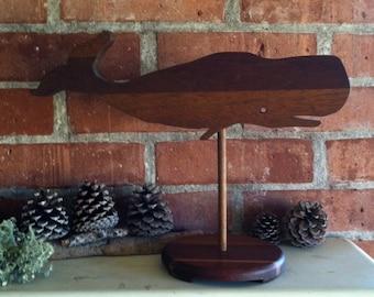 Baleine de bois