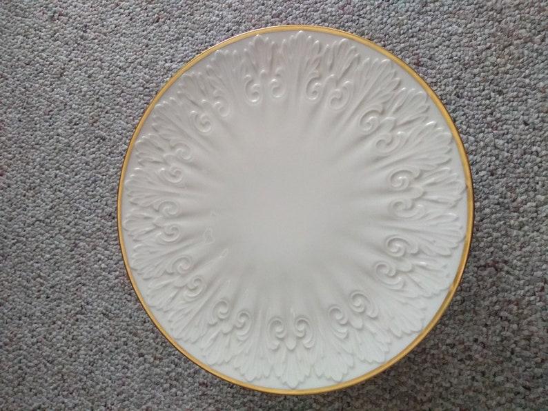 Lenox Cake Stand Porcelain Vintage 1960/'s