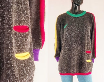 c55dcf33382 90s grey sweater
