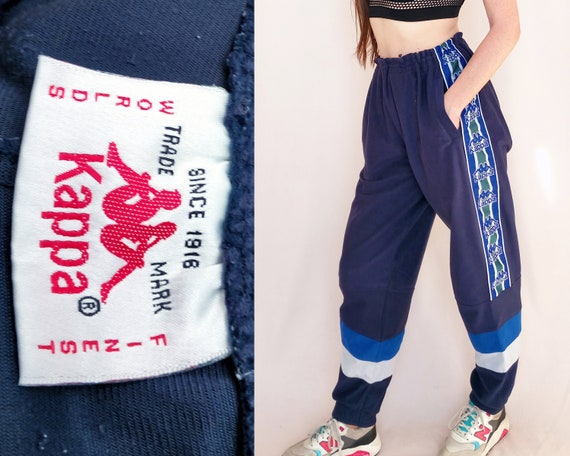 90s Kappa pants, tracksuit bottoms, vintage sports
