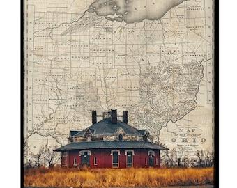 Ohio Map Series (Roundhouse)