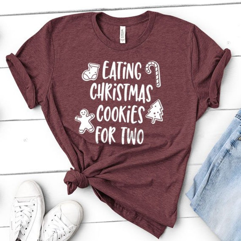 77828e78 Eating Christmas Cookies for Two Funny Gift for Christmas | Etsy