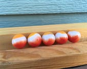 Vitro all red marble Agate glass vintage toy game strand colored set marbles yellow white prize name orange gold