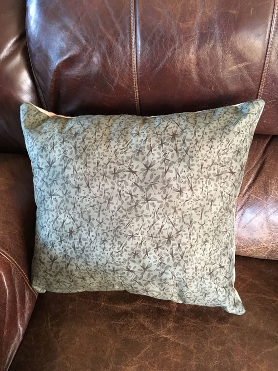 Co-op Soy bean oil meal Pillow Upcycled Repurposed Grain Gunny Vintage Accent Shabby red Ivory Farm old feed sack Boone Iowa Eagle Grove