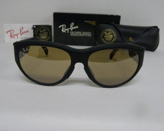 a6a2c3beb8 New Vintage B L Ray Ban 1992 Olympic Games Series Sport Nylon 1 RB-50  General Sunglasses USA