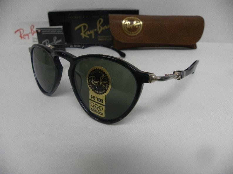 2b5cb04330 New Vintage B L Ray Ban Gatsby DLX 2 Strawberry Shape Ebony